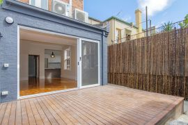 Outdoor Decking extending living area